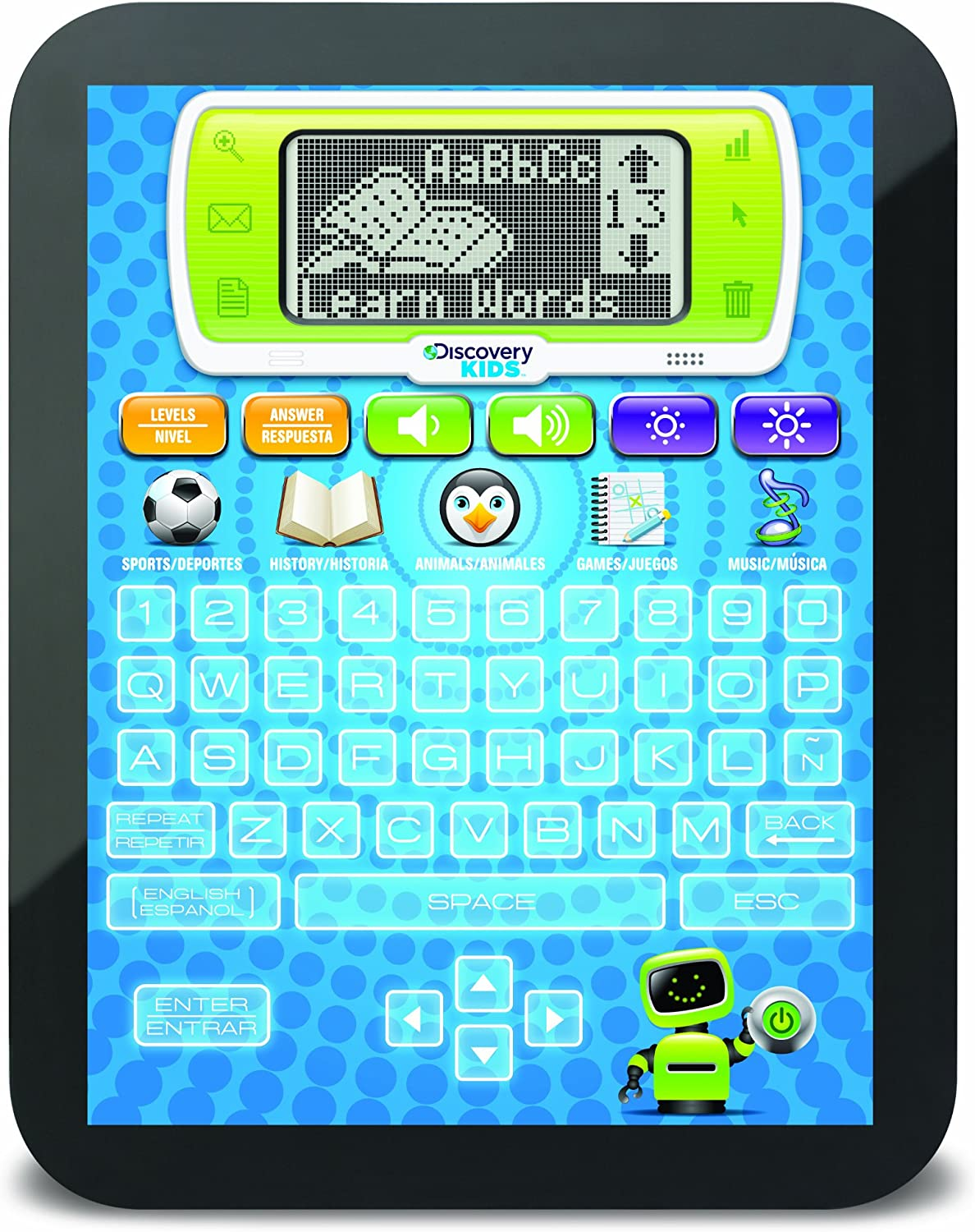 Discovery Kids Bilingual Teach and Talk Tablet - Blue