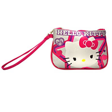 91f30b843b Amazon.com  Wristlet - Hello Kitty - Wallet Clutch with Wristlet  Shoes