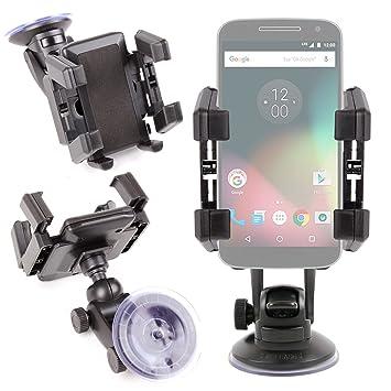 DURAGADGET Soporte con Abrazaderas para Smartphone Lenovo Moto G4 ...