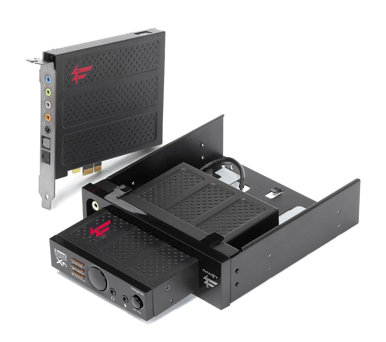 Creative SoundBlaster X-Fi Titanium Fatal1ty Champion Series Soundkarte intern