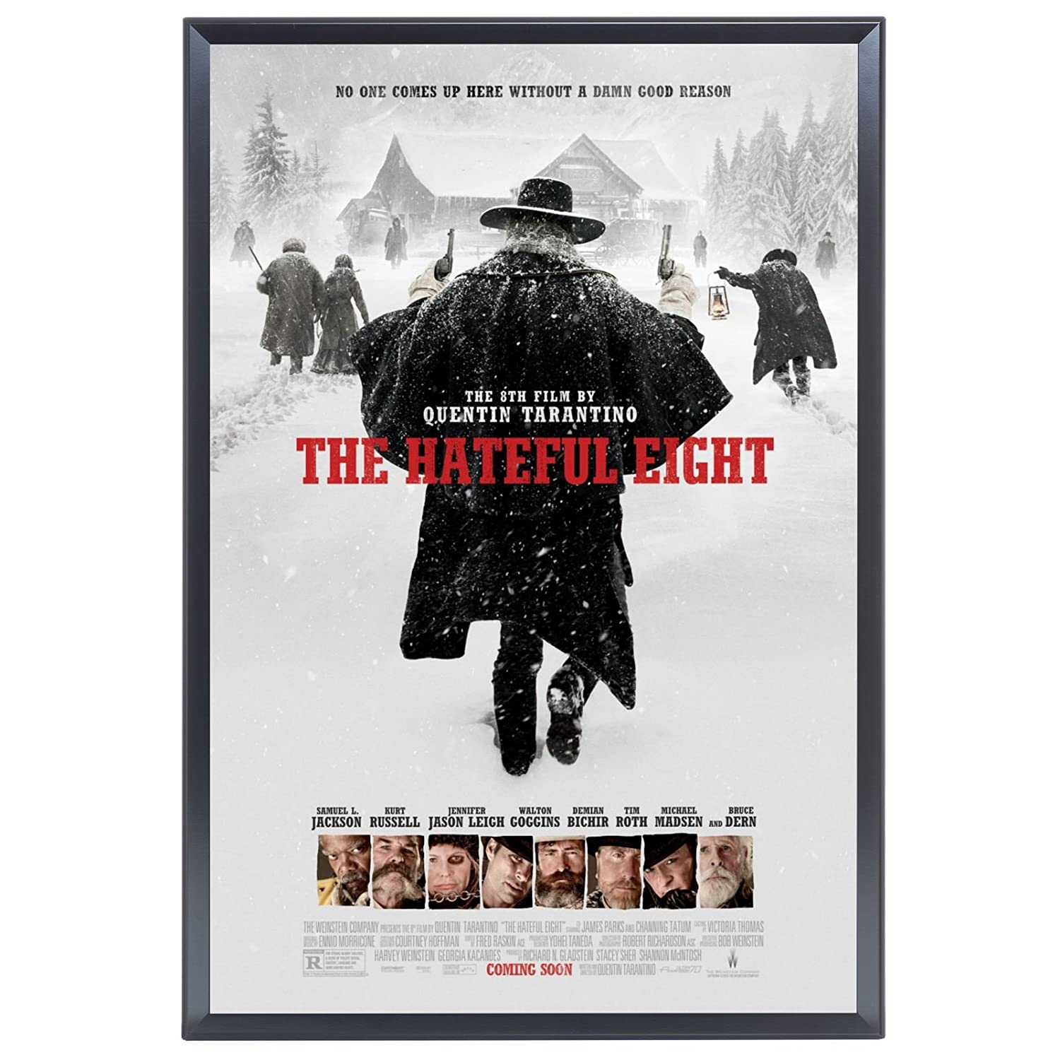 Amazon.com - SnapeZo Movie Poster Frame 27x40 Inches, Black 1.25 ...