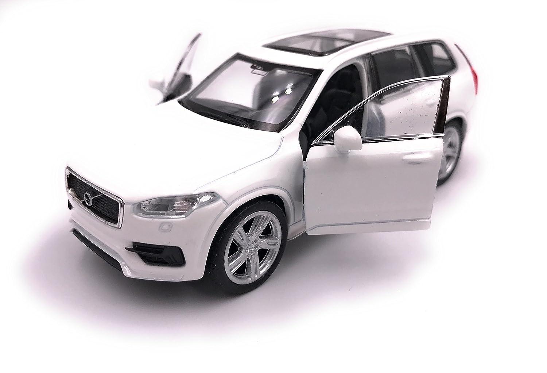Welly Producto de Licencia de automóvil Volvo XC 90 Modelo 1: 34-1: 39 Blanco