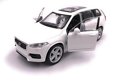 Onlineworld2013 Model Car X5 SUV White Car Scale 1 34-39 con Licencia
