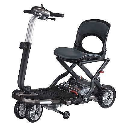 Scooter Brio S | Plegable y compacta | Ruedas antivuelco