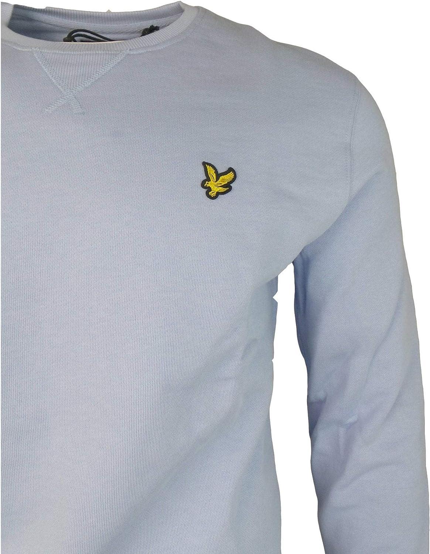 Lyle and Scott Men Crew Neck Sweatshirt Cotton