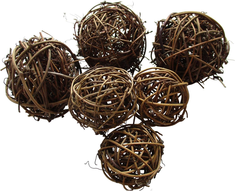 Natural Brush Twig Balls Grapevine Twig Bowl Fillers