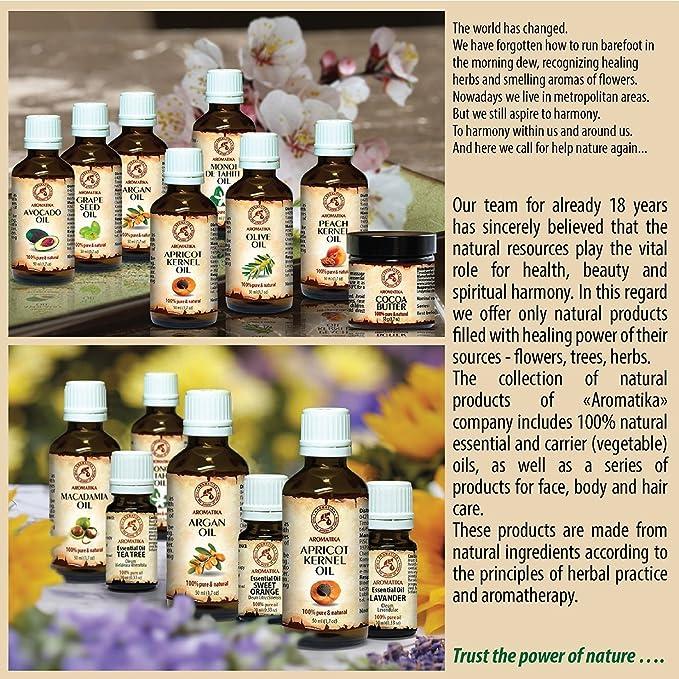 Aceite de Ricino Puro 50ml - Castor Oil - Ricinus Communis - India - Cuidado Intensivo para el Rostro - Cuidado Corporal - Cabello - Piel - Botella de ...