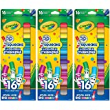Crayola Pip-Squeak Markers 16 Count (Pack of 3) 48 Markers Total