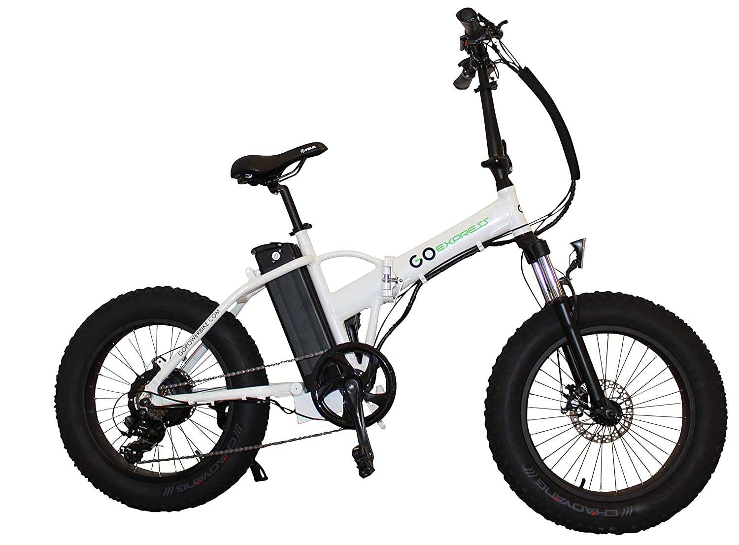 All Terrain Bike >> Amazon Com Folding Fat Tire Electric Bicycle 20 500w With A