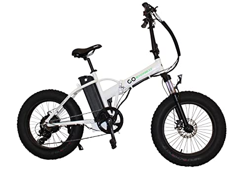 Amazon Com Folding Fat Tire Electric Bicycle 20 500w With A