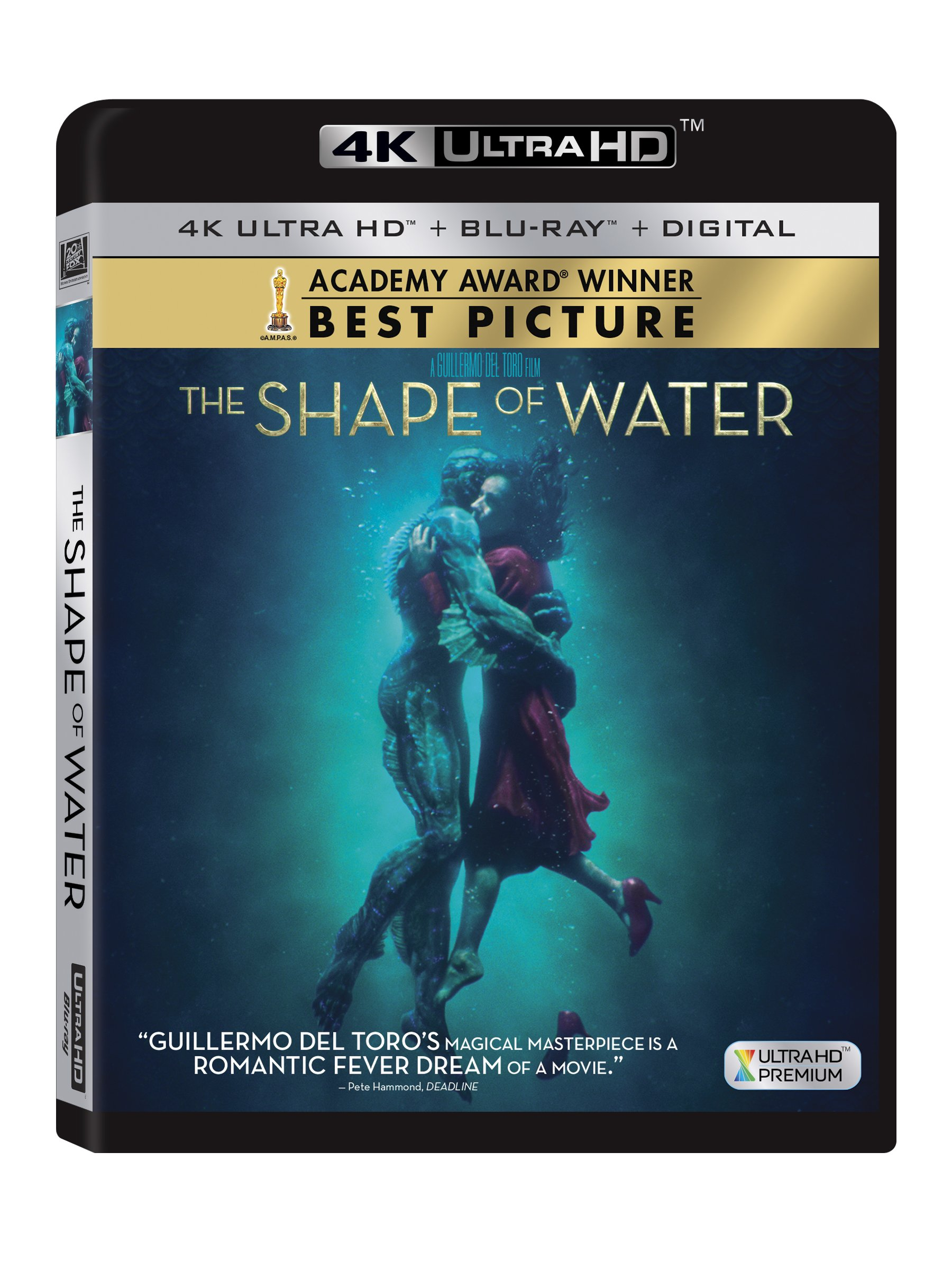 4K Blu-ray : The Shape Of Water (With Blu-Ray, 4K Mastering, Widescreen, Dubbed, Subtitled)