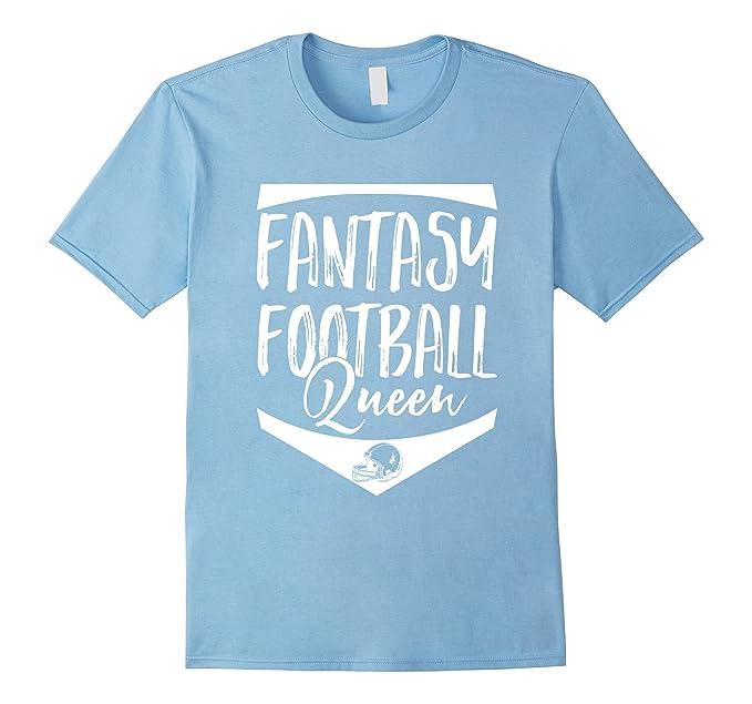 Amazon Com Fantasy Football Queen T Shirt Clothing