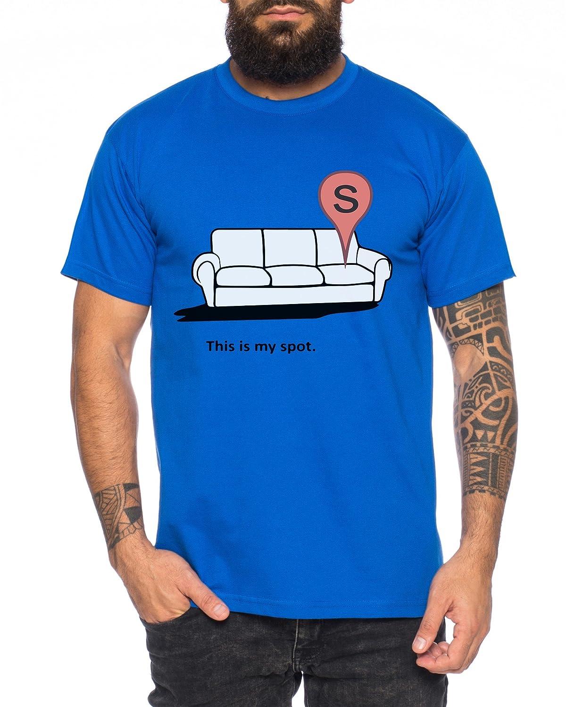 Big My Spot Bang Nerd Theory Sheldon Uomo T-Shirt