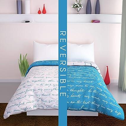 Amazon.com: Divine Casa All Season Reversible Microfiber Twin ...