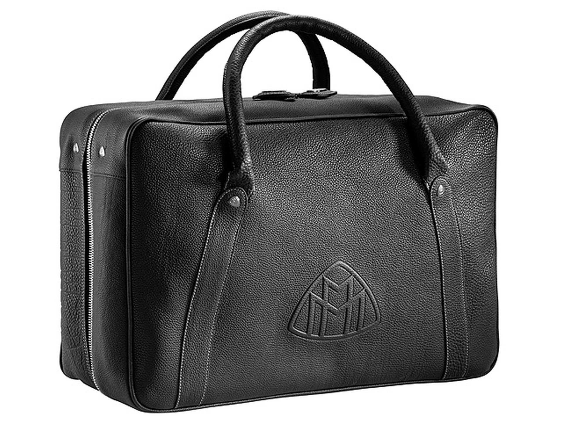 Mercedes Benz,exclusive Maybach Holdall black travelbag, suitcase overnight bag by Maybach