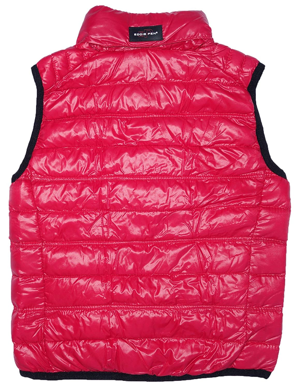 Eddie Pen - Manteau sans manche - Veste damassée - Col Mao - Garçon Rouge  Rot 3345 6 ans  Amazon.fr  Vêtements et accessoires 9833a887870