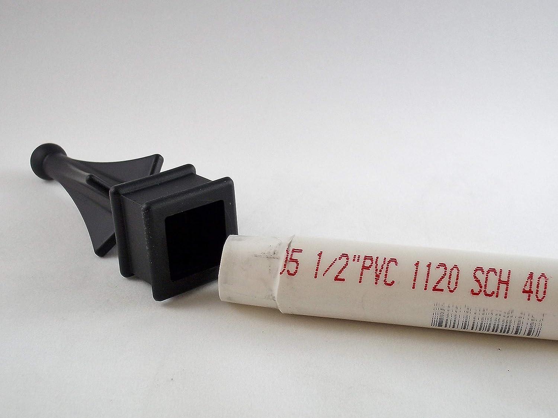 Amazon.com: (10 Cada para valla de plástico de hierro 3/4 ...