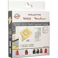 Rowenta ZR003901 Lot de 6 sacs d'aspirateur + 1 micro-filtre