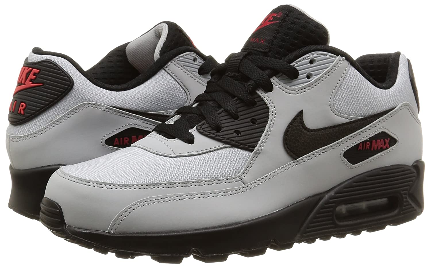 promo code 5074c 57d8a Nike Men s Air Max 90 Essential Sneakers  Amazon.co.uk  Shoes   Bags