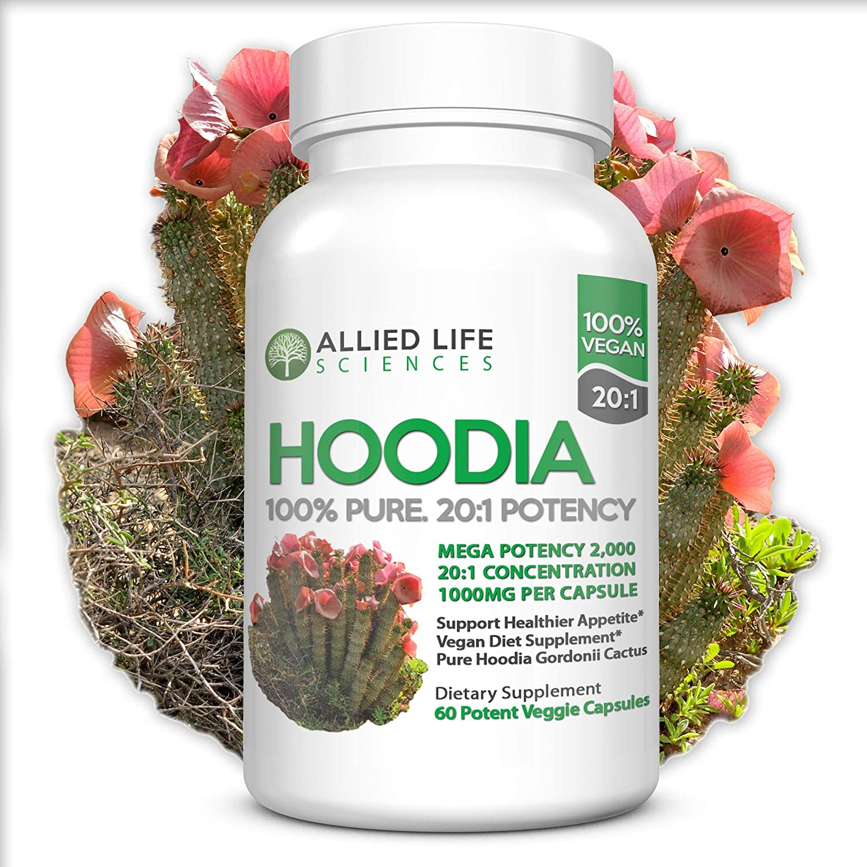 Amazon Com Hoodia Gordonii Natural Vegan Appetite Suppressant