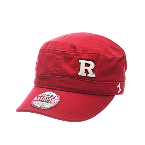 new style 2f566 0a903 Image Unavailable. Image not available for. Color  ZHATS NCAA Rutgers  Scarlet Knights Women s Cadet Hat ...