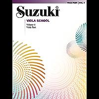 Suzuki Viola School - Volume 4: Viola Part book cover
