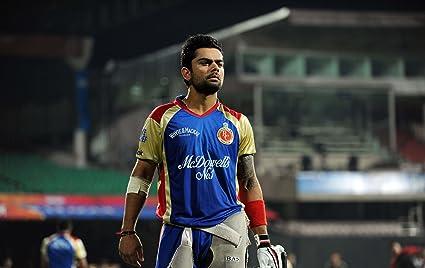 Cricket Virat Kohli ON FINE ART PAPER HD WALLPAPER POSTER