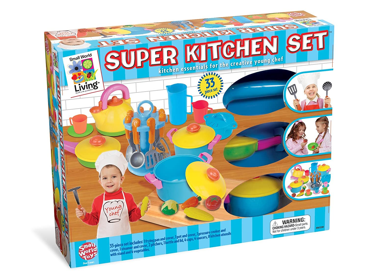 Amazon.com: Small World Toys Living - Young Chef\'s Super Kitchen ...