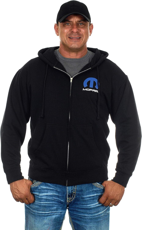 B07G7HVL8L JH Design Men's Mopar Zip-up Hoodie & Mopar T-Shirt Combo Gift Set 81BZtUwMzDL