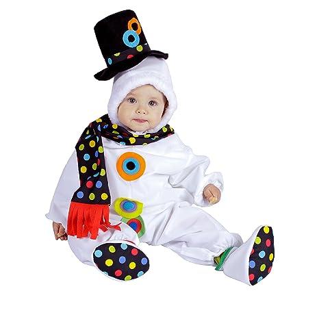Nines dOnil Export - Pelele muñeco de nieve, disfraz (D9235)
