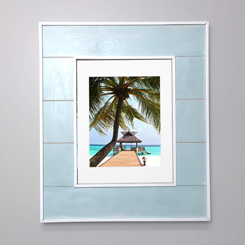 amazon com 14x18 seabreeze blue concealed medicine cabinet large rh amazon com