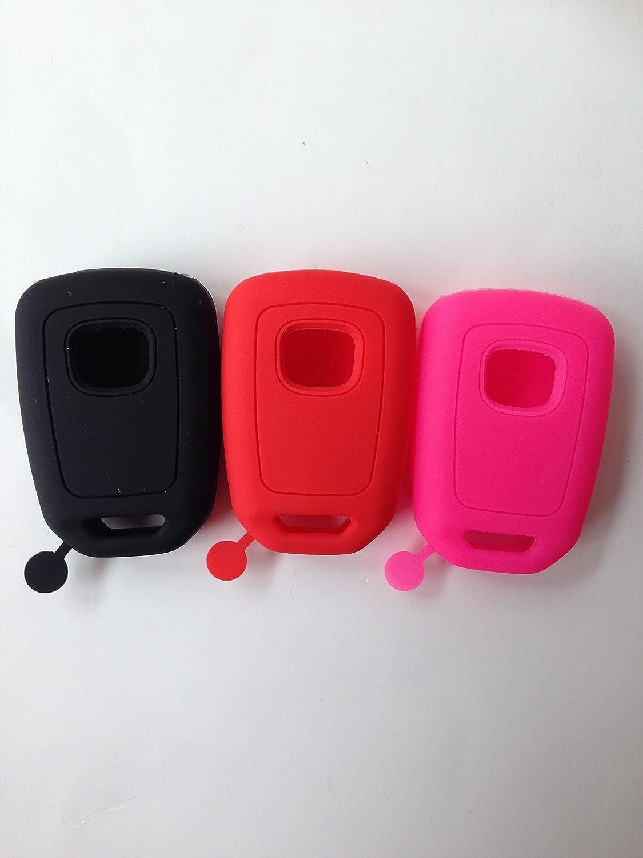 2pcs black Fob Remote Key case Cover Holder for 2013-2017 Honda Accord sports