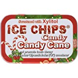 Ice Chips Candy naturally sweetened with xylitol Candy Cane 1.76 ounce (Packaging may vary)