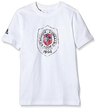 adidas T- Shirt Enfant essai du Bout du Monde-Ffr Manches Courtes Garçon cee51fd080a