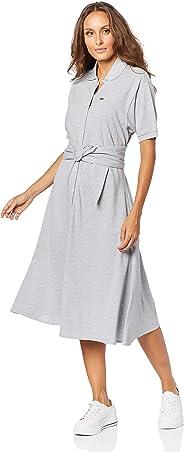 Vestido Regular Fit, Lacoste, Feminino