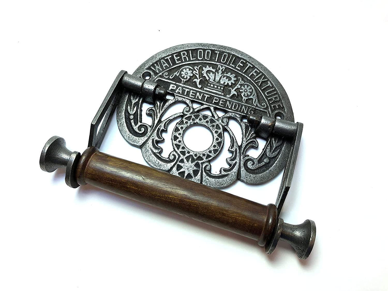 Traditional Waterloo vintage design victorian wall mounted toilet loo roll holder by Bowley & Jackson