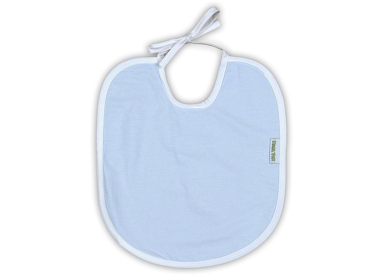 Babyl/ätzchen 10er Pack zum Bemalen extra gross 30x35 cm 100/% Baumwolle gelb