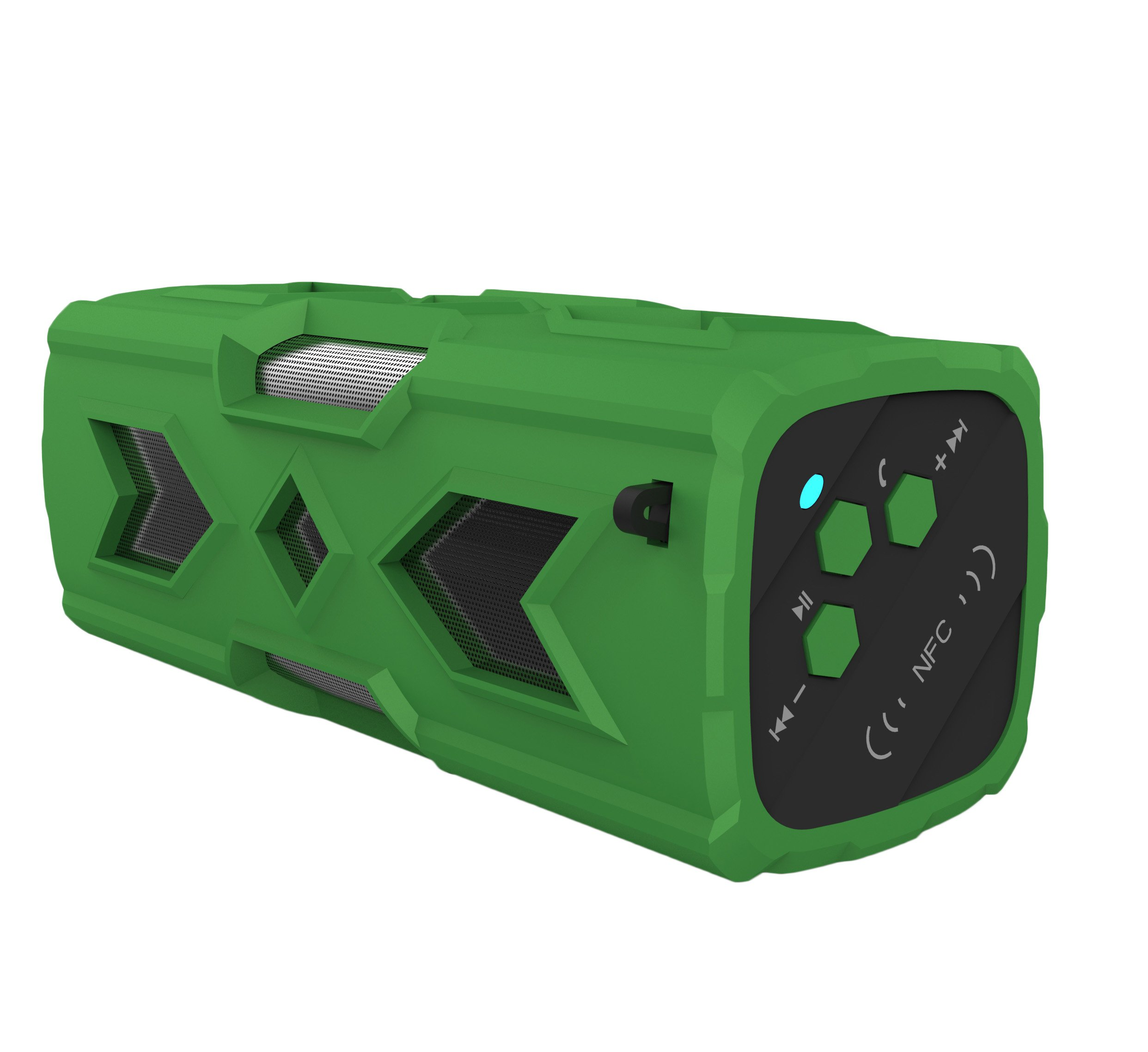 Portable Mini Bluetooth Speaker With 10-Hour Playtime, 33-Foot Bluetooth Range Wireless Stereo Loud Bass Sport Stereo Theater (Green) by Pettstore