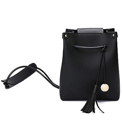 Amazon.com: Coolyouth - Bolso de piel para mujer con correa ...