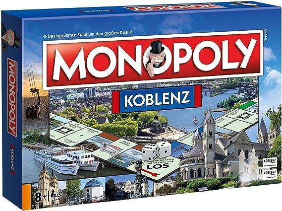 Monopoly Koblenz Stadt City Edition Ausgabe Spiel Gesellschaftsspiel Brettspiel