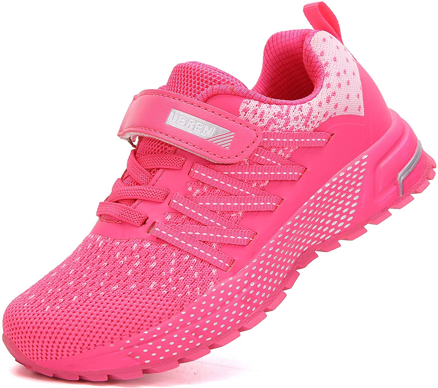 BOYS RUNNING TRAINERS NEW KIDS GIRLS SHOCK ABSORBING SPORTS SCHOOL SHOES SIZE