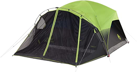 Coleman Dome Tent for Camping with e-port