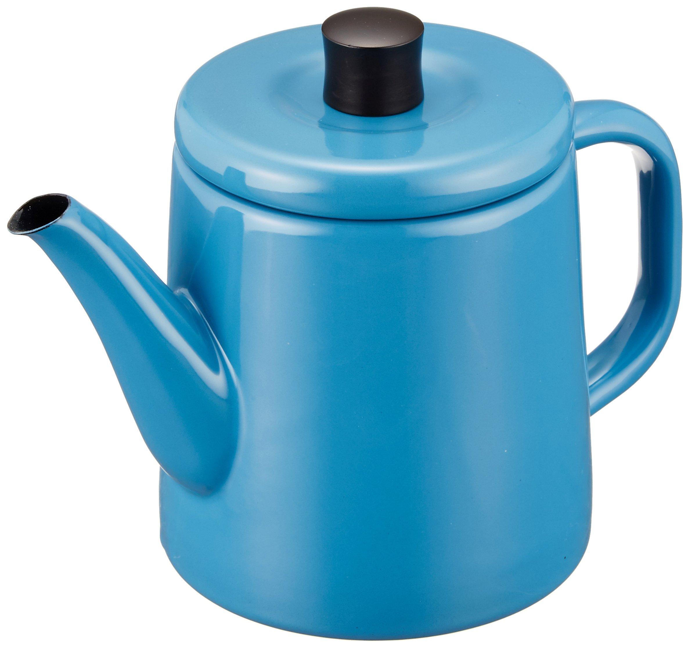 Noda Horo Enamel Pottle (Blue)
