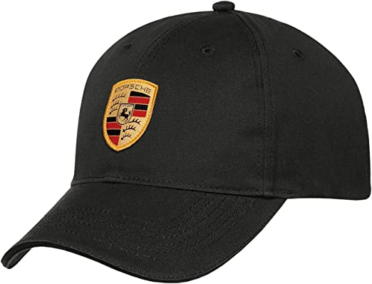 Genuine PORSCHE Baseball cap Crest Black WAP0800050C