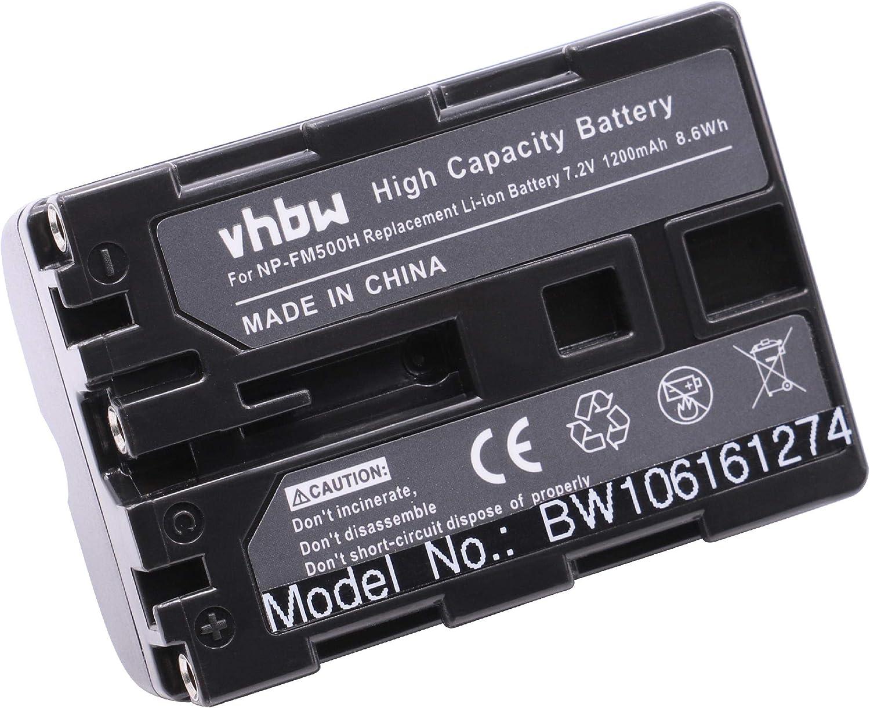 Vhbw Akku Li Ion Passend Für Sony Alpha 500 Alpha 550 Elektronik