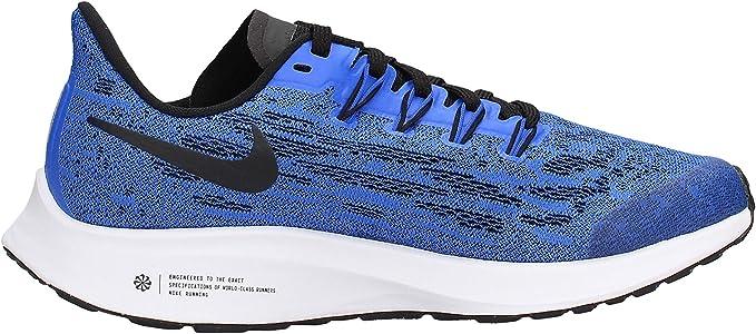Nike Air Zoom Pegasus, Unisex Niño, Multicolor (Racer Blue/Black/White 400), 36 EU: Amazon.es: Zapatos y complementos