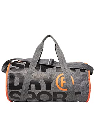 bde41b8e25 Superdry Sac à dos L'homme Xl Sports Barrel U Gris: Amazon.fr ...