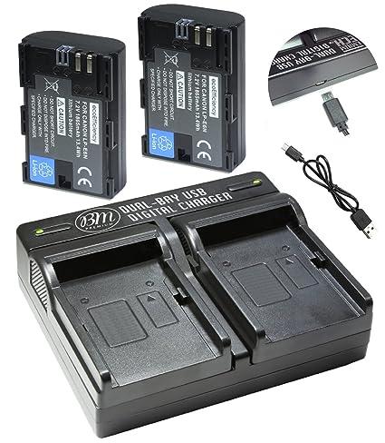 Ecoeficiencia de Pack de 2 baterías LP-E6, LP-E6 N y USB Dual ...