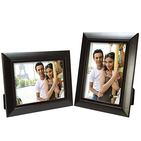 Amazoncom Neil Enterprises Inc 5 X 7 Black Wood Picture Frame