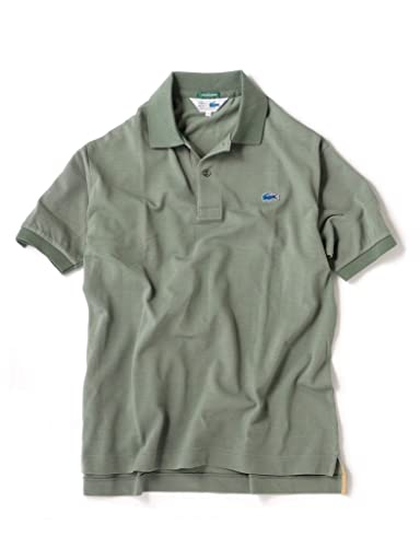 70s Drop Tail Polo 112-11-5021: Green